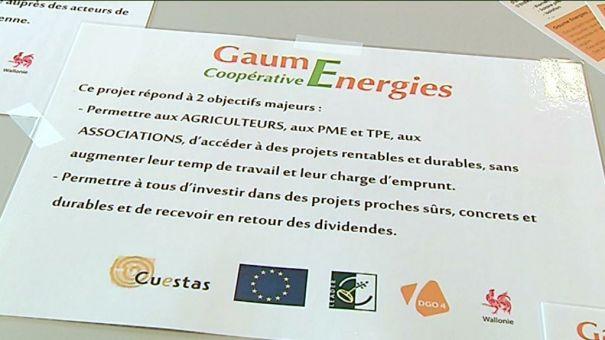 Lancement de la coopérative Gaume Energies