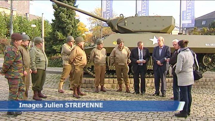 Arlon : lifting réussi pour le char de la place Léopold