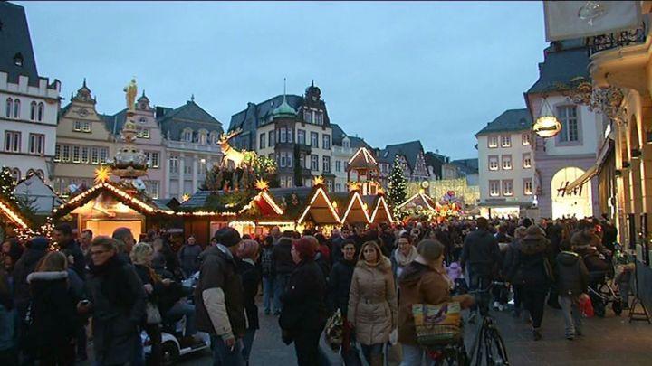 Trêves, un des plus beaux marchés de Noël d'Allemagne
