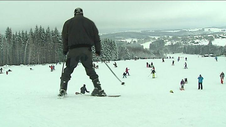 4000 skieurs à la Baraque de Fraiture!