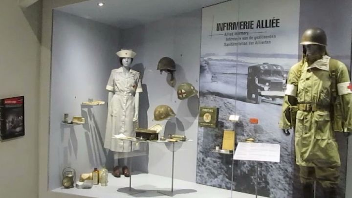 La smart balade d'Amandine au Bastogne War Museum