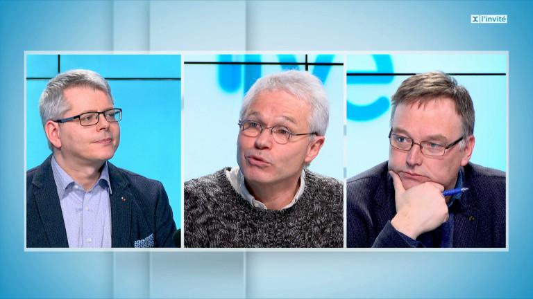Pierre Stassart et Didier Stilmant