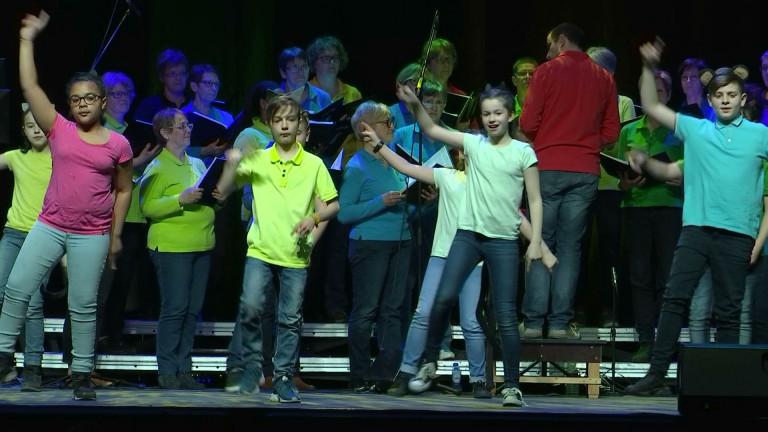 """Wex : des élèves font un spectacle avec la chorale """"Le Bois Joli"""""""