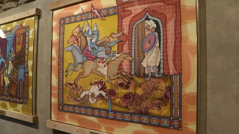 Bouillon : Godefroid et les templiers au cœur de deux expositions