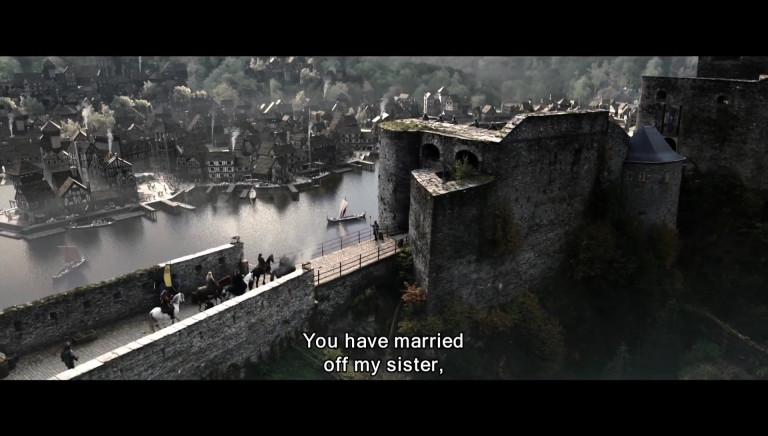 Bouillon : la bande annonce de Redbad, film tourné en partie au château
