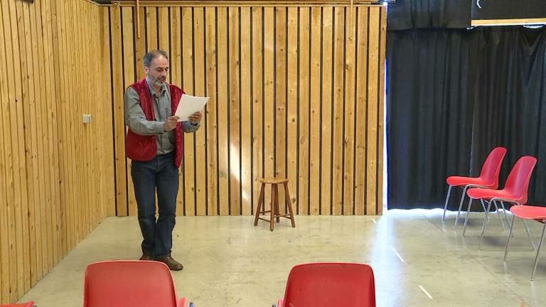 La lecture-spectacle à l'honneur à Bourdon