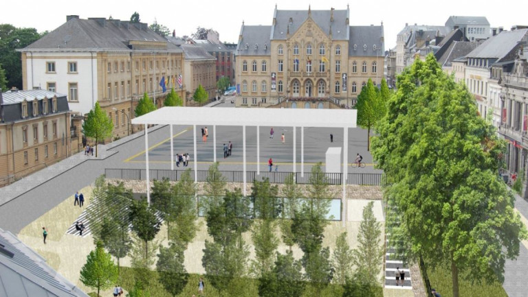 """Arlon. Une métamorphose pour les """"espaces Léopold"""""""