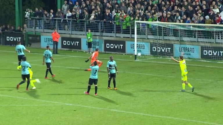 Battu par Gand, Virton sort la tête haute de la Coupe de Belgique !