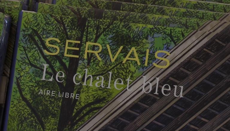 """""""Le chalet bleu"""", la nouvelle BD de J-C Servais"""