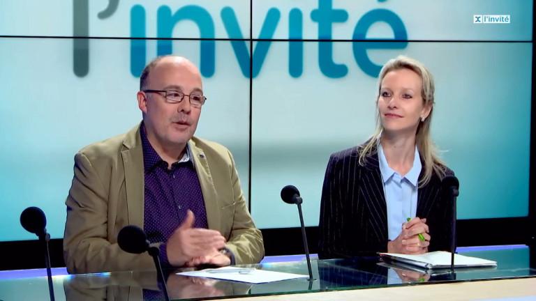 Claudy Thomassint et Marie-Eve Hannard, députés provinciaux