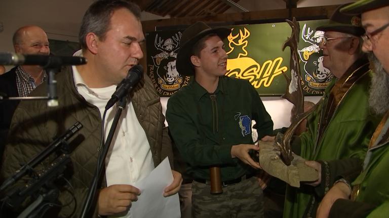 Thomas Cravatte, 17 ans, est le meilleur imitateur de brame du cerf