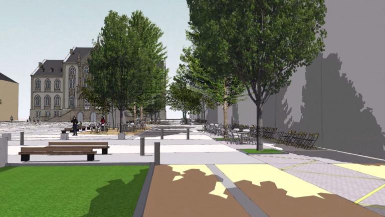 Arlon. La future Place Léopold présentée aux riverains