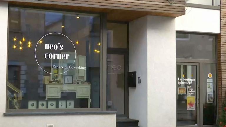 Neufchâteau : coworking et boutique éphémère au Neo's corner