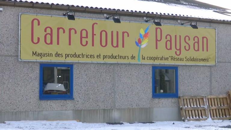 """Neuvillers : """"Carrefour paysan"""", une nouvelle boutique de produits locaux"""