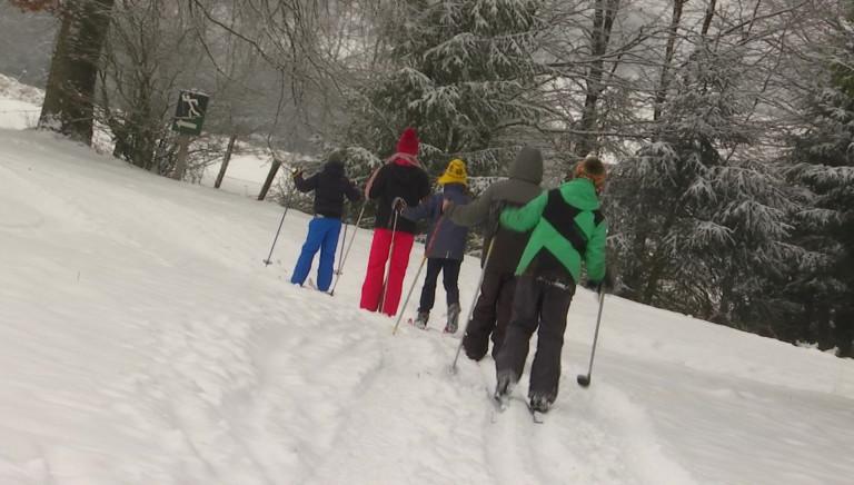 Les pistes de ski ouvertes en Luxembourg. La carte interactive !