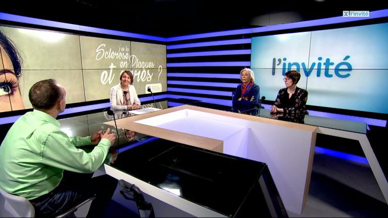 Patricia Milard, Cynthia Copine et Daniel Coppe - Ligue Belge de la Sclérose en Plaques