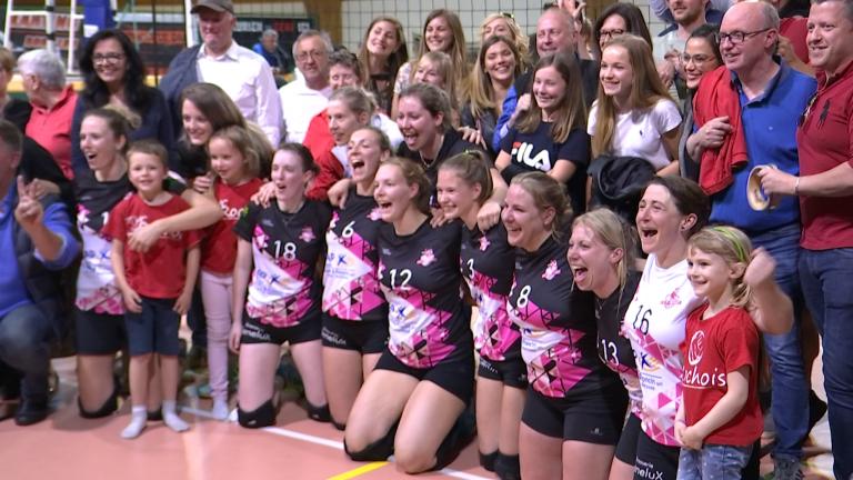 Volley : La Roche remporte la Coupe au terme d'une finale remarquable !