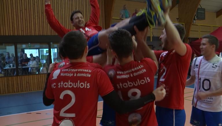 Volley : le Stabulois A gagne la Coupe en battant son frangin