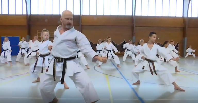 Karaté : ils ont appris un nouveau kata au stage de Jamoigne