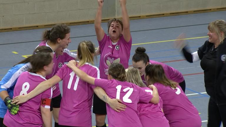Futsal : les dames de Messancy gagnent la Coupe