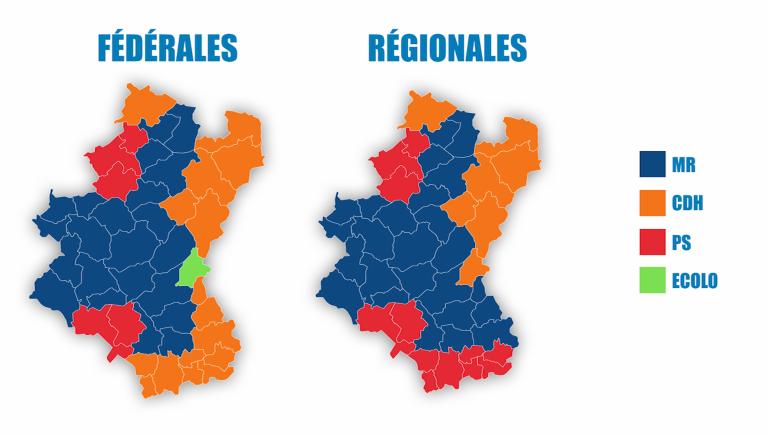 Elections : les partis par canton