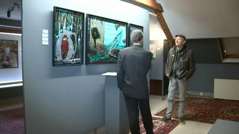 Virton: La galerie du Comble loue des œuvres d'art aux entreprises