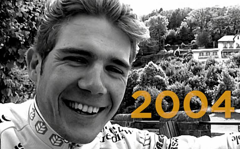 ...2004 : rencontre avec le jeune Maxime Monfort