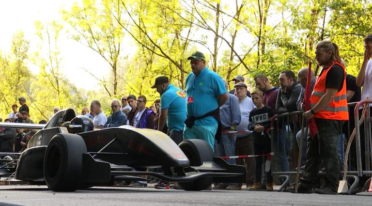 120 pilotes à la course de côte de La Roche