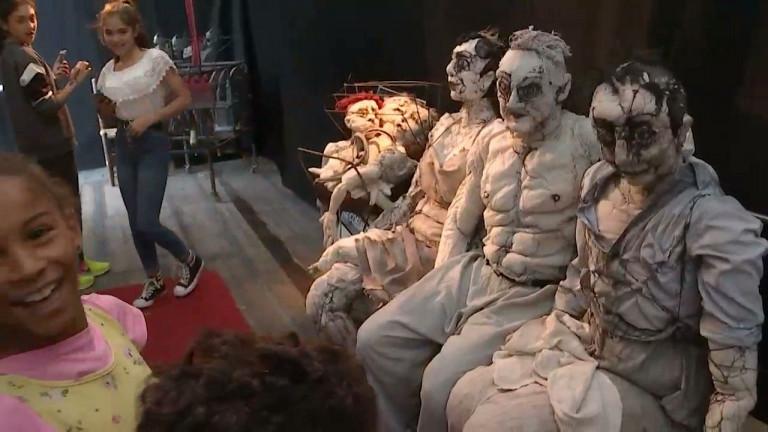 Charleville-Mézières: le festival des marionnettes bat son plein