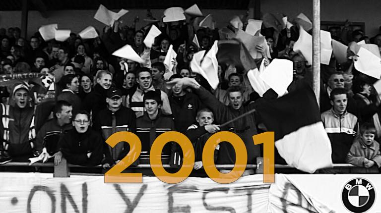 ...2001. Virton-Eupen, ambiance avant le match de la montée en D2