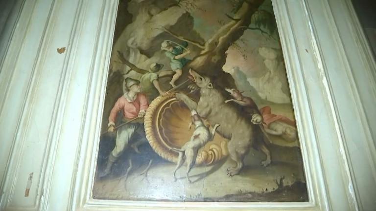 Saint-Hubert : une oeuvre de Redouté découverte dans un bâtiment