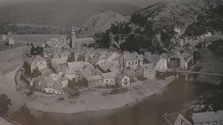 La Roche avant et après les bombardements, le regard d'Edgard Schindeler