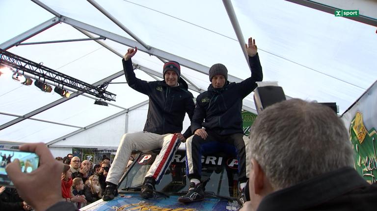 Kris Meeke remporte les Legend Boucles 2020