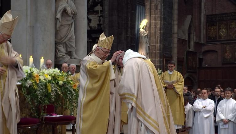 Lode Van Hecke d'abbé d'Orval à évêque de Gand