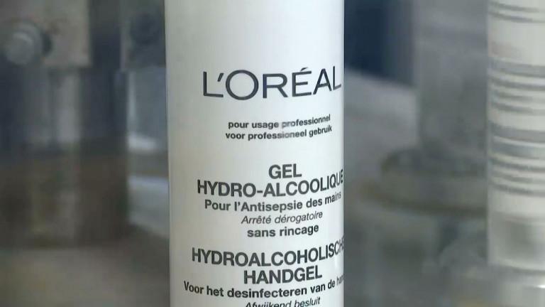 Coronavirus : L'Oréal Libramont produit 18 tonnes de gel hydro-alcoolique