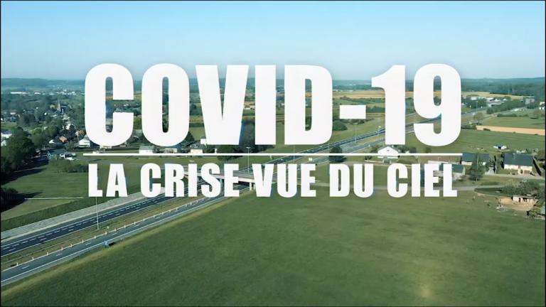 Covid-19, La crise vue du ciel