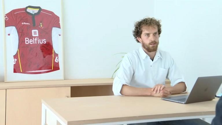 Le Libramontois Maxime Toussaint, futur kiné de l'équipe de France de hockey