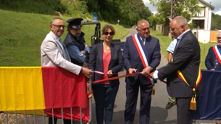 Les frontières rouvertes, Florenville fête l'amitié franco-belge