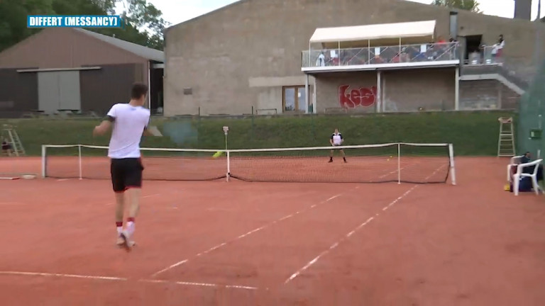 Messancy. Reprise des tournois de tennis