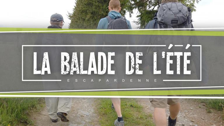 La Balade de l'été, sur le tracé de l'Escapardenne : première étape (Kautenbach - Clervaux)