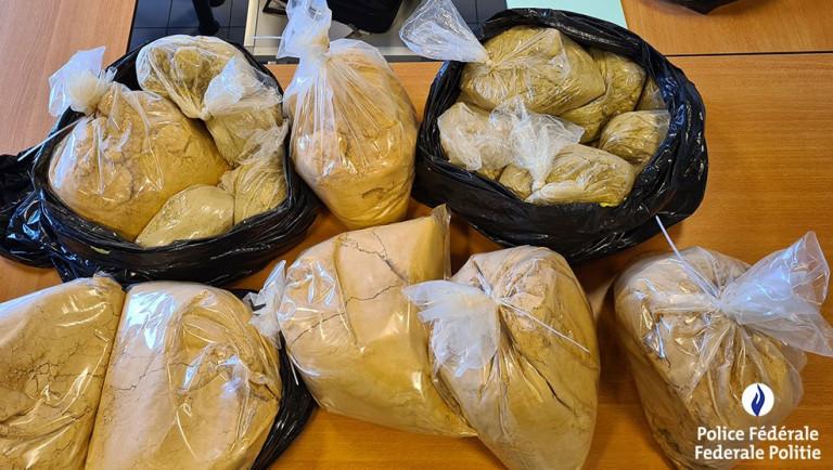 La police de la route du Luxembourg intercepte 50kg d'héroïne
