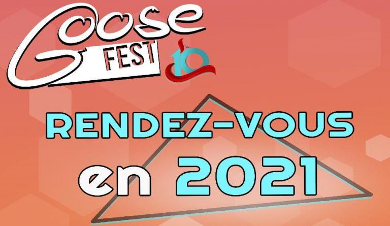 Le Goose Fest finalement reporté en septembre 2021 !