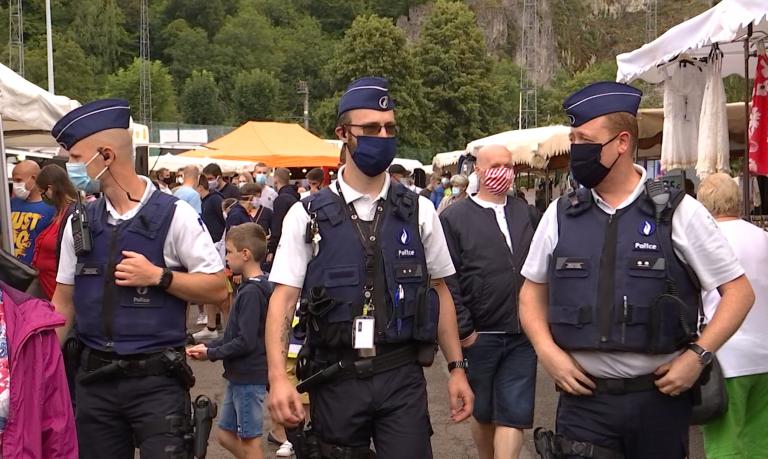 Masque obligatoire à Durbuy : la police veille