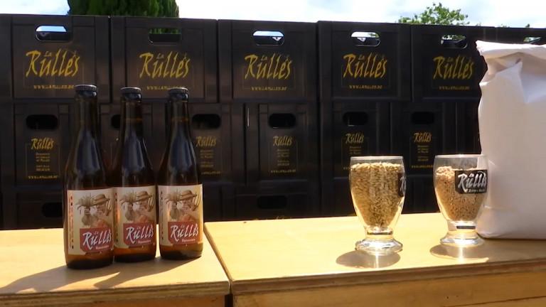 La brasserie de Rulles propose une bière à l'épeautre local