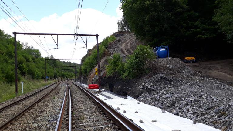 SNCB : trafic suspendu entre Libramont et Jemelle, du 12 au 17 août
