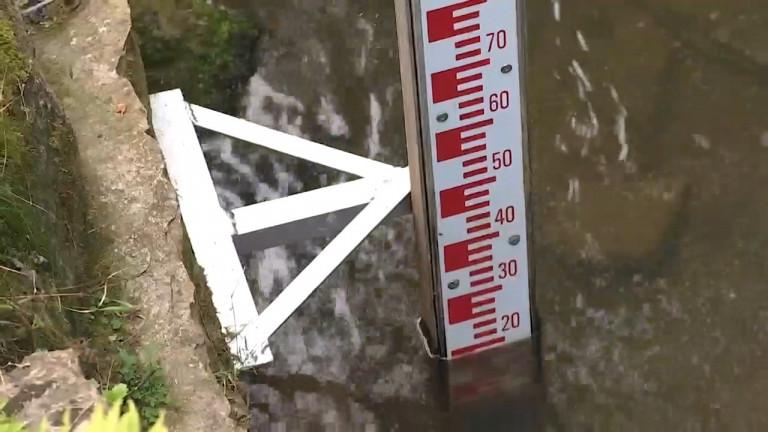 Entre Durbuy et Virton, il gère 400 kms de cours d'eau wallons