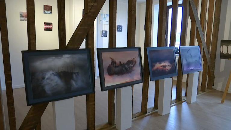 Virton : sept artistes du collectif Vizio exposent au Cheval Blanc