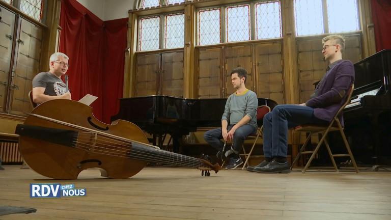 Nicolas Achten et Thomas Baeté