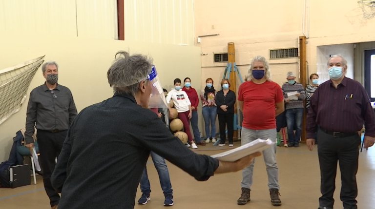 Les répétitions de l'oratorio des 950 ans d'Orval reprennent masquées