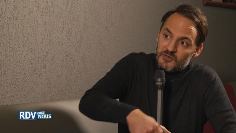"""Fabrizio Rongione, seul-en-scène """"Homo Sapiens"""""""